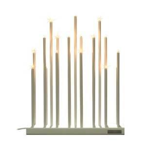 By Rydéns By Rydéns Elfugan svíčkový lustr, stmívač, bílá