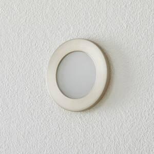 BEGA BEGA Accenta nástěnné světlo kulaté rám ocel 160lm