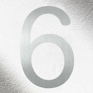 CMD Vysoce kvalitní čísla domů v nerezové oceli 6