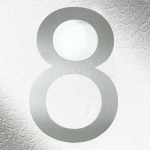 CMD Vysoce kvalitní čísla domů v nerezové oceli 8
