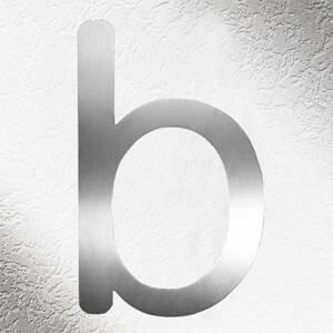 CMD Vysoce kvalitní čísla domů - písmeno b
