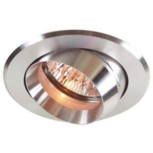 Deko-Light Podhledové svítidlo výklop/8,2 cm/stříbrný hliník