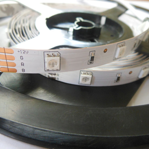 BIOleDEX LED pásek SMD-RGB0-005 5 metrů komplet sada
