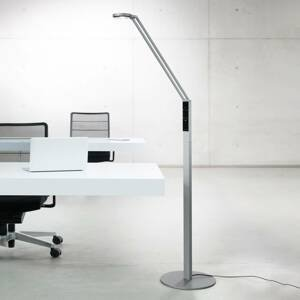 Luctra Luctra Floor Radial LED stojací lampa hliník