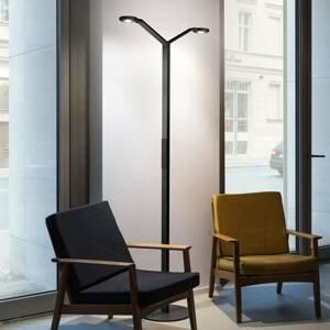 Luctra Luctra Floor Twin Radial LED stojací lampa černá