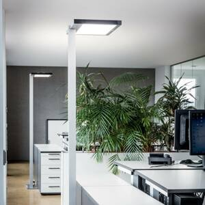 Luctra Luctra Vitawork LED stojací lampa 7000lm PIR