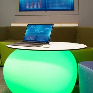 DEGARDO Deska pro dekorativní lampu Rovio III, bílá
