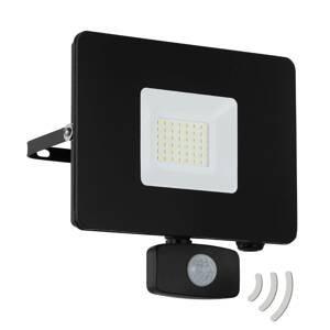 EGLO Faedo 3 LED venkovní reflektor, senzor, černá, 30W