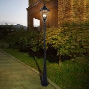 Eco-Light Solární stožárové světlo London s LED