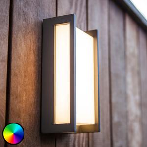 Eco-Light WiZ LED venkovní nástěnné světlo Qubo