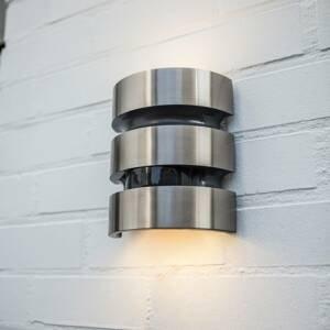 Eco-Light Nerez LED venkovní nástěnné světlo Maya senzor
