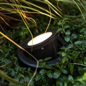 Eco-Light LED podlahové světlo Arctic, kulaté