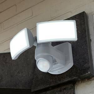 Eco-Light LED nástěnný reflektor Arc se senzorem, bílý