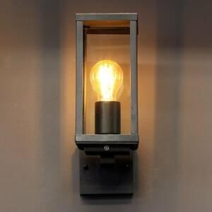 Eco-Light Venkovní světlo Karo, černá, soumrakový senzor