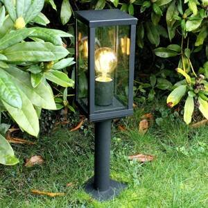 Eco-Light Soklové světlo Karo se soumrakovým senzorem