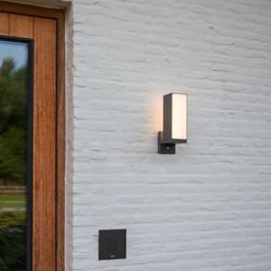 Eco-Light LED nástěnné světlo Cuba, 1 zdroj, snímač pohybu