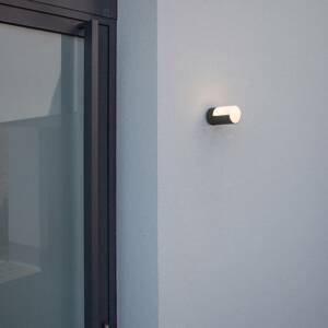 Eco-Light LED venkovní nástěnné světlo Cyra 2x matná černá