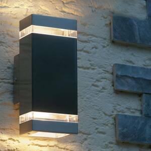 Eco-Light Venkovní nástěnné svítidlo Focus, nerezová ocel