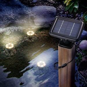 Esotec LED solární podvodní spot Splash 3ks