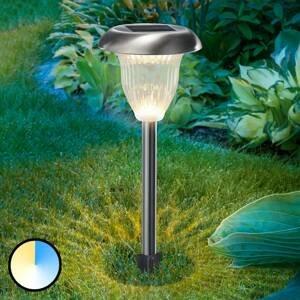 Esotec LED solární lampa Flower Light s funkcí Duo-Color