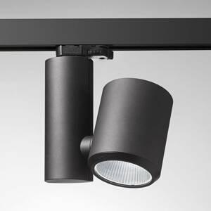 Egger Licht Černý LED kolejnicový reflektor Kent Bakery 38°