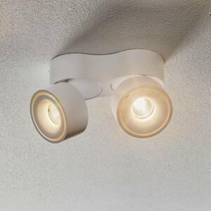 Egger Licht Egger Clippo Duo LED stropní spot, bílý, 3000K