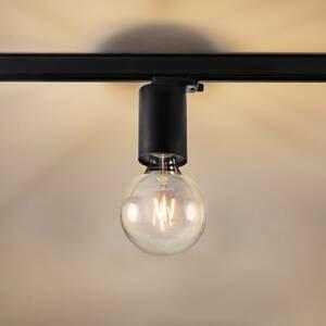 Egger Licht Egger Soho P3 lištové světlo patice E27, černá