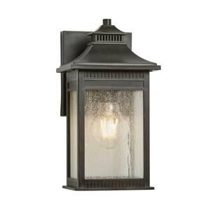 QUOIZEL Venkovní nástěnné světlo Livingston small, 28,3cm