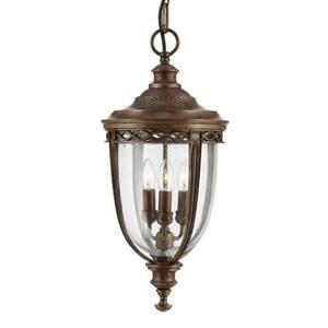 Elstead Závěsné světlo English Bridle venkovní, bronz
