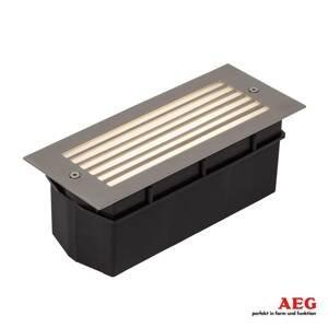 AEG AEG Wall – venkovní nástěnné LED světlo s mřížkou