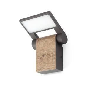 FARO BARCELONA LED venkovní nástěnné světlo Wood