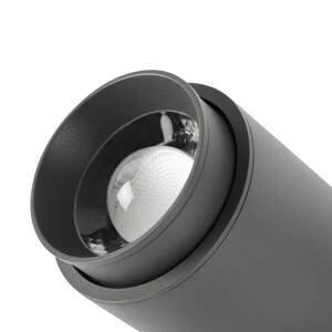 FARO BARCELONA LED venkovní nástěnný projektor Plom, tmavě šedá