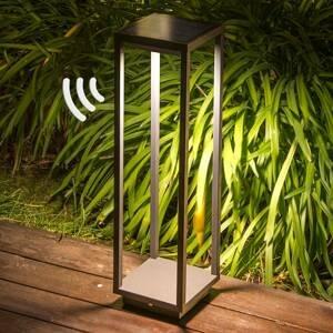 FARO BARCELONA LED solární svítidlo s podstavcem Saura