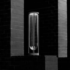FLOS FLOS In Vitro Bollard 3, 2700 K, 90 cm, bílá