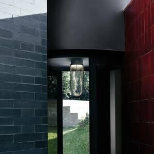 FLOS FLOS In Vitro Ceiling stropní světlo 2700 antracit