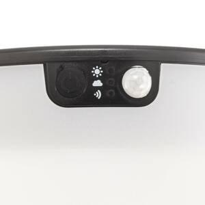 Fumagalli LED solární svítidlo Felice černé CCT výška 33 cm