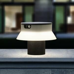 Fumagalli LED solární svítidlo Felice černé CCT výška 18 cm