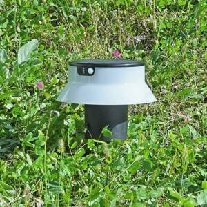 Fumagalli LED solární svítidlo Felice černé CCT s hrotem