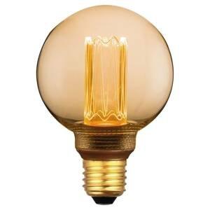 Freelight LED miniglobe E27 5W, teplá bílá, 3-step-dim zlatá