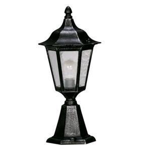 Albert Leuchten Soklové světlo 541, katedrální sklo, černostříbrná
