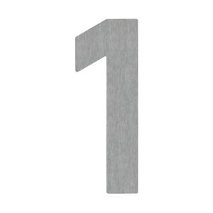 Albert Leuchten Domovní číslo 1 - z nerezové oceli