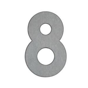 Albert Leuchten Domovní číslo 8 - z nerezové oceli