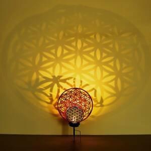 Globo LED dekorativní solární světlo 36614 květ života