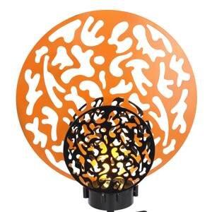 Globo LED solární světlo 36615 zlatá černá