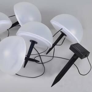 Globo LED solární světelný řetězec 33980RGB, změna barvy