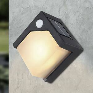 Globo LED solární nástěnné světlo 36480, snímač pohybu