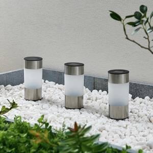 Lindby Lindby Jocob LED solární zapichovací světlo 3ks