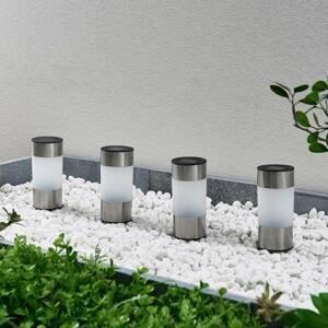 Lindby Lindby Jocob LED solární zapichovací světlo, 4ks