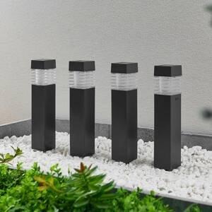 Lindby Lindby Fanney LED solární zapichovací světlo, 4ks