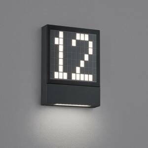 Helestra Helestra Dial LED osvětlení čísla domu z hliníku
